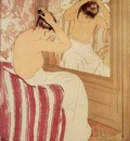Cassatt Mary The Coiffure study