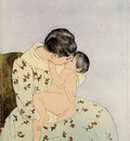 Cassatt Mary The Kiss