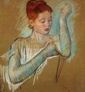 Cassatt Mary The Long Gloves