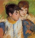 Cassatt Mary The Two Sisters