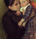 Cassatt Mary Woman and Her Child aka Helene de Septeuil