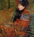 Cassatt Mary Autumn aka Profile of Lydia Cassatt