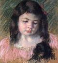 Cassatt Mary Bust of Francoise Looking Down