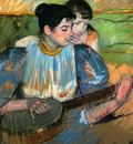 Cassatt Mary The Banjo Lesson