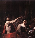 PRETI Mattia St John The Baptist Before Herod