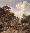 hobbema meyndert a wooded landscape 1660