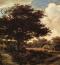 Hobbema Meyndert Landscape