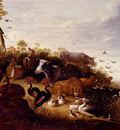 Hondecoeter Gysbert D The Garden Of Eden