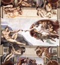 Ceiling of the Sistine Chapel detail1 EUR