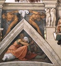 Ceiling of the Sistine Chapel detail3 EUR