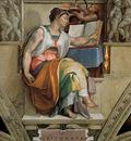 Michelangelo Sistine Chapel Ceiling Sybils Erithraea