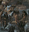 Michelangelo The Last Judgement detail3a