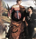 MORETTO da Brescia St Justina With The Unicorn