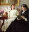 Morisot Berthe Mother and Sister of the Artist