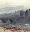Foster Myles Birket A View Of Old Town And Waverley Bridge From Princes Street Edinburgh