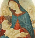 NEROCCIO DE LANDI Madonna With Child St Sebastian And St Catherine Of Alexandria