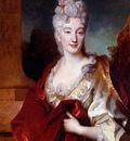 Largillierre Nicolas De Portrait Of A Lady