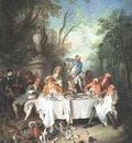 LANCRET Nicolas Luncheon Party