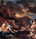 Poussin Acis and Galatea
