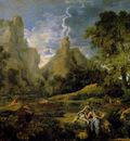 Poussin Nicolas Landscape With Polyphemus