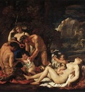Poussin The Nurture of Bacchus