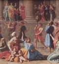 Poussin The Triumph of David detail
