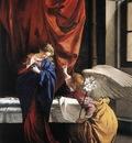 GENTILESCHI Orazio Annunciation