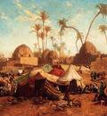 Gentz Karl Wilhelm Bedouincamp