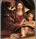 parmigianino madonna and child