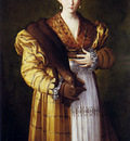 Parmigianino Portrait Of A Young Woman