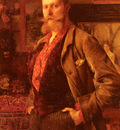 Dagnan Bouveret Portrait Of Gustave Courtois