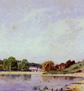 Guigou Paul Camille A Bend in the Durance River