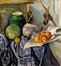 cezanne still life with a ginger jar and eggplants