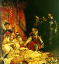 death of elizabeth