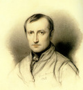 self portrait 1838 charcoal