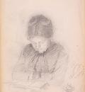 Peel Paul Portrait of the Artist s Wife