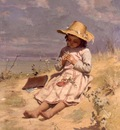 peel paul the young botanist 1888