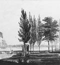 Svinin Pavel Petrovich Philadelphia From Across The Delaware River