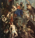 Madonna Enthroned with Child and Saints WGA