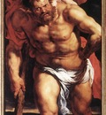 Rubens Descent from the Cross detail outside left