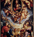 Rubens Virgin And Child Adored By Angels