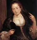 Rubens Woman with a Mirror
