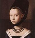 CHRISTUS Petrus Portrait Of A Young Girl