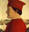 PIERO della FRANCESCA Portrait Of Federico Da Montefeltro