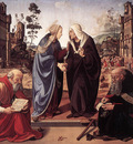 piero di cosimo the visitation with sts nicholas and anthony 1489