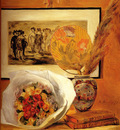 Renoir Auguste Still Life With Bouquet