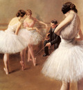 Carrier Belleuse Pierre The Ballet Lesson