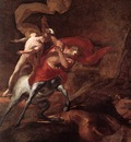 Puget The Education of Achilles by Chiron