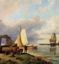 Dommersen Pieter Christiaan On The Spaarne Haarlem