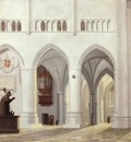 SAENREDAM Pieter Jansz Interior Of The Church Of St Bavo At Haarlem